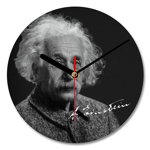 Albert Einstein Autographed Wall Clock
