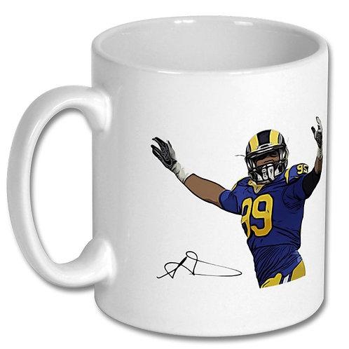 Aaron Donald Los Angeles Rams 10oz Mug