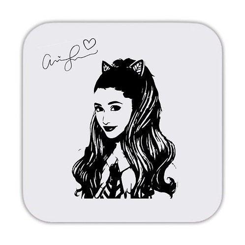Ariana Grande Drinks Coaster 9 x 9cm
