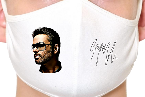 George Michael Wham Reusable Face Mask
