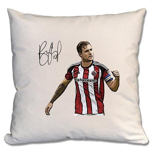 Billy Sharp Sheffield United Large Cushion