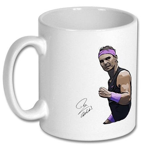 Rafael Nadal Tennis 10oz Mug