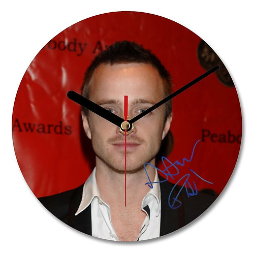 Aaron Paul Autographed Wall Clock