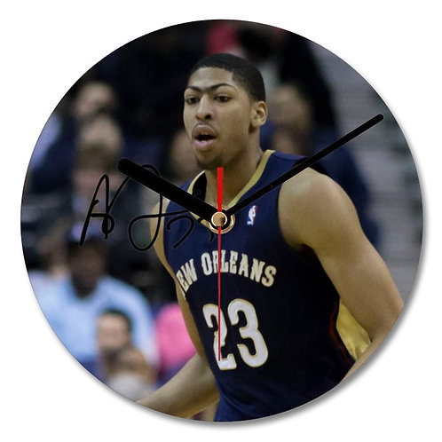 Anthony Davis - New Orleans Hornets - NBA Autographed Wall Clock