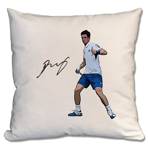 Andy Murray Tennis Large Cushion