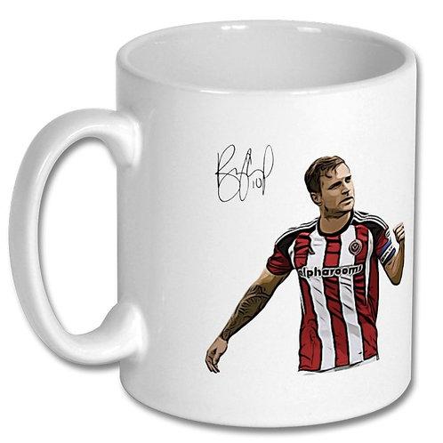 Billy Sharp Sheffield United 10oz Mug