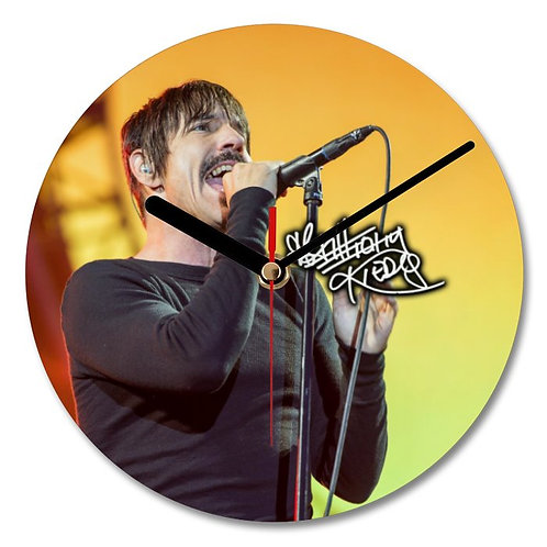 Red Hot Chili Peppers - Anthony Kiedis Autographed Wall Clock