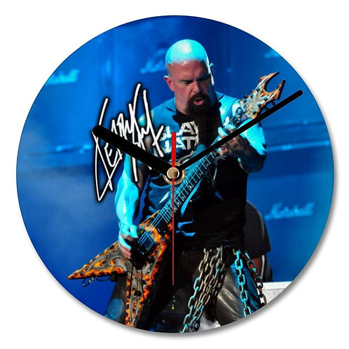 Kerry King - Slayer Autographed Wall Clock