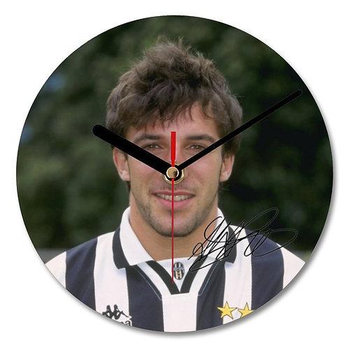 Alessandro Del Piero - Italy - Juventus Autographed Wall Clock