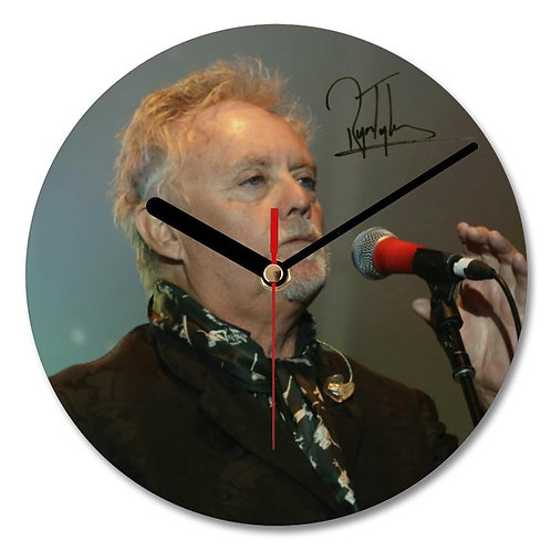 Queen - Roger Taylor Autographed Wall Clock