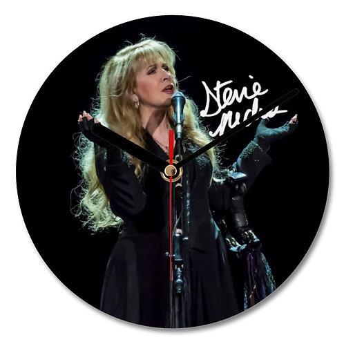 Fleetwood Mac - Stevie Nicks Autographed Wall Clock