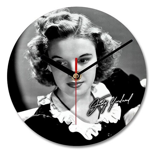 Judy Garland Autographed Wall Clock