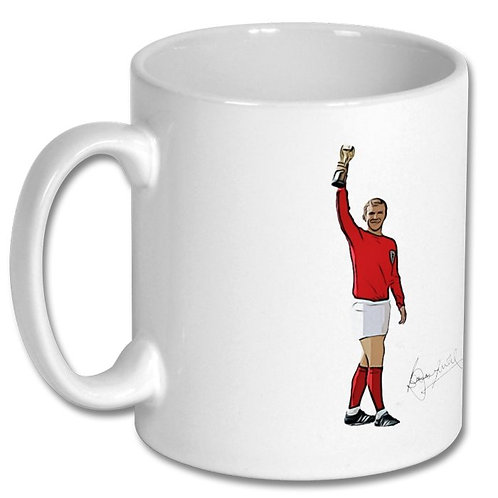 Bobby Moore World Cup 10oz Mug