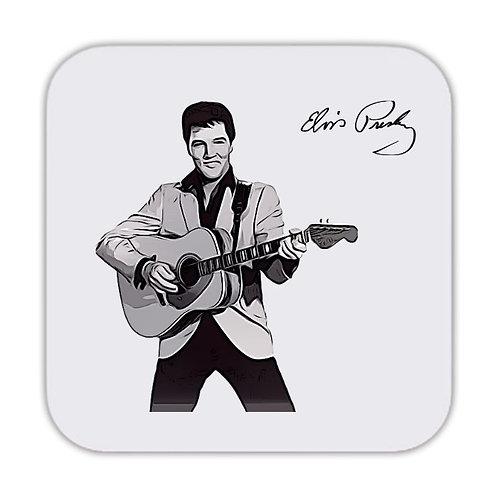 Elvis Presley v5 Drinks Coaster 9 x 9cm