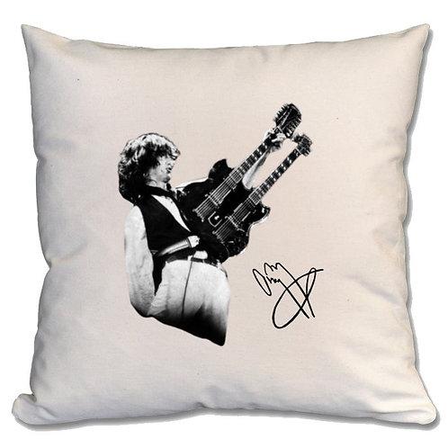 Jimmy Page Led Zeppelin Large Cushion
