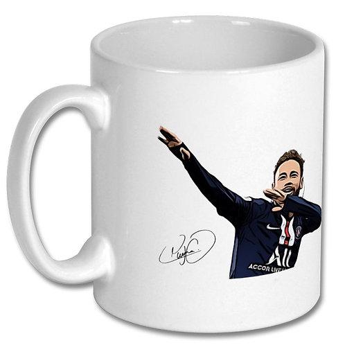 Neymar PSG Brazil 10oz Mug