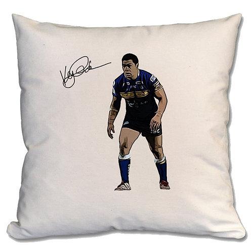 Kylie Leuluai Leeds Rhinos Large Cushion