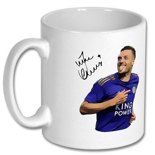 Jamie Vardy Leicester City 10oz Mug
