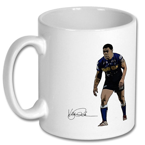 Kylie Leuluai Leeds Rhinos 10oz Mug