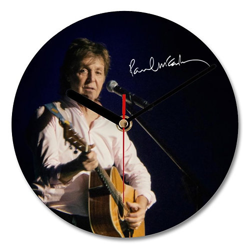 Paul McCartney - The Beatles Autographed Wall Clock