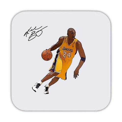 Kobe Bryant LA Lakers Drinks Coaster 9 x 9cm