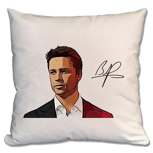 Brad Pitt Large Cushion