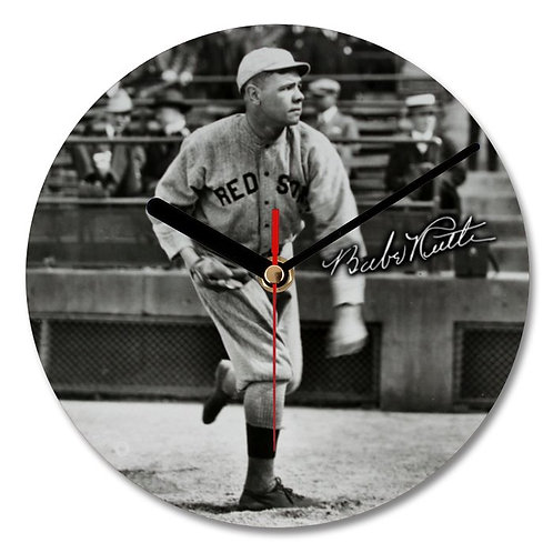 Babe Ruth - Boston Red Sox Autographed Wall Clock