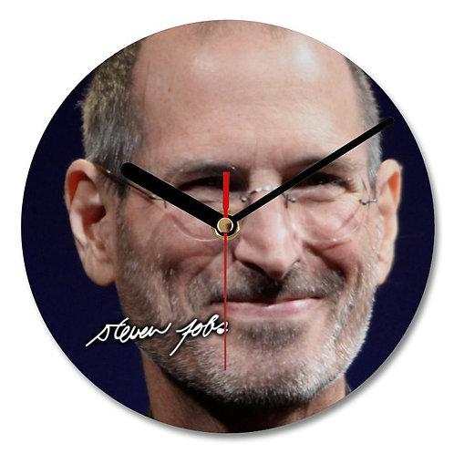 Steve Jobs Autographed Wall Clock