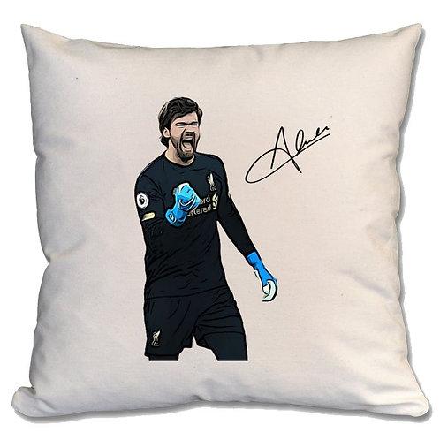 Alisson Becker Liverpool Large Cushion