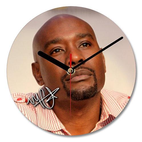 Morris Chestnut Autographed Wall Clock