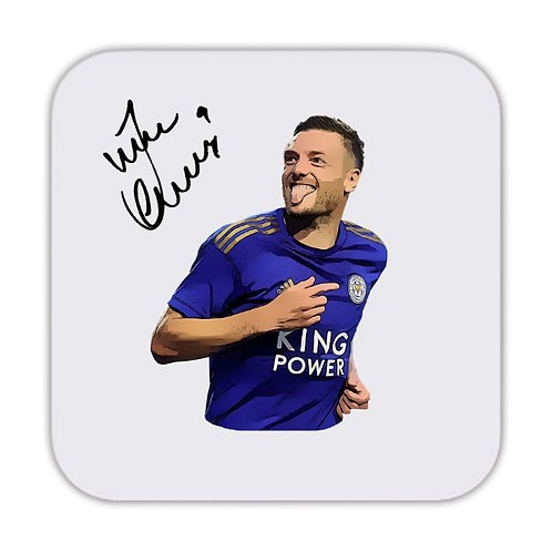 Jamie Vardy Leicester City Drinks Coaster 9 x 9cm
