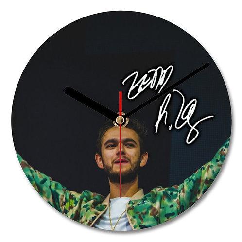 Zedd Autographed Wall Clock