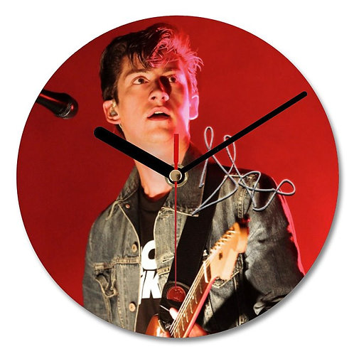 Alex Turner - Arctic Monkeys Autographed Wall Clock