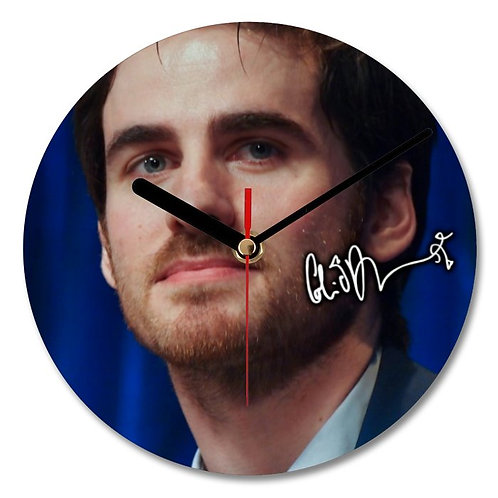 Colin O'Donoghue - Once Upon a Time Autographed Wall Clock