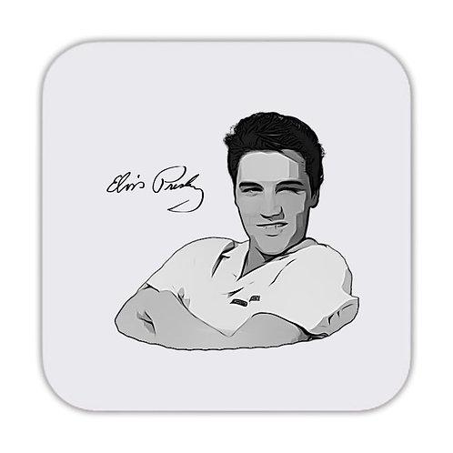 Elvis Presley v3 Drinks Coaster 9 x 9cm