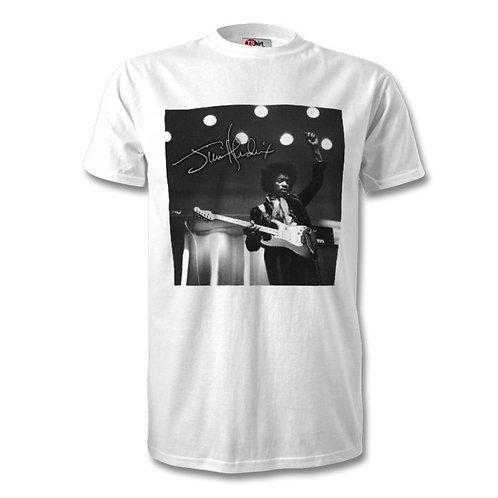 Jimi Hendrix Autographed Mens Fashion T-Shirt