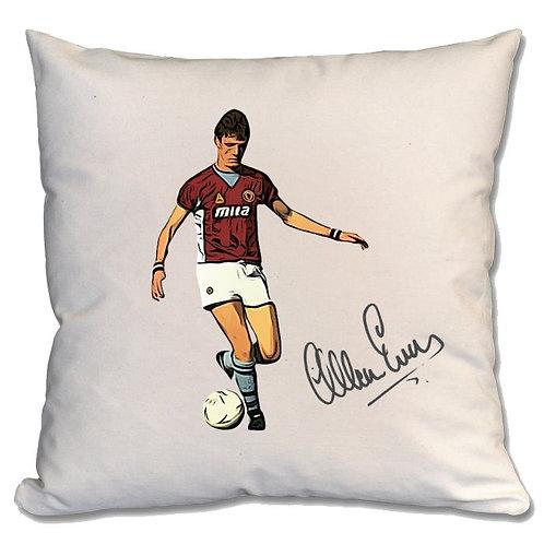 Allan Evans Aston Villa Large Cushion