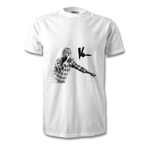 Kendrick Lamar Autographed Mens Fashion T-Shirt