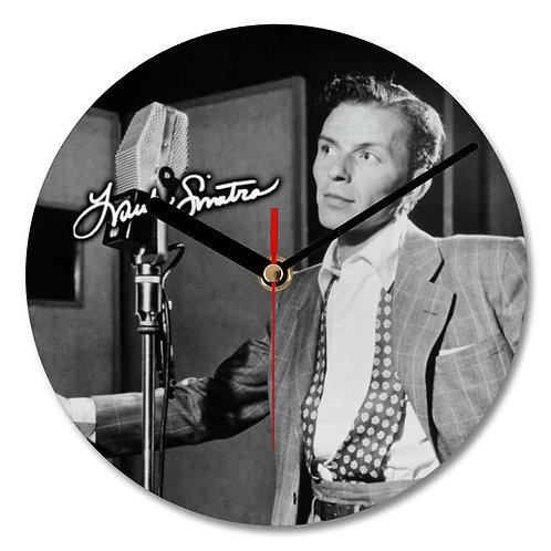 Frank Sinatra Autographed Wall Clock