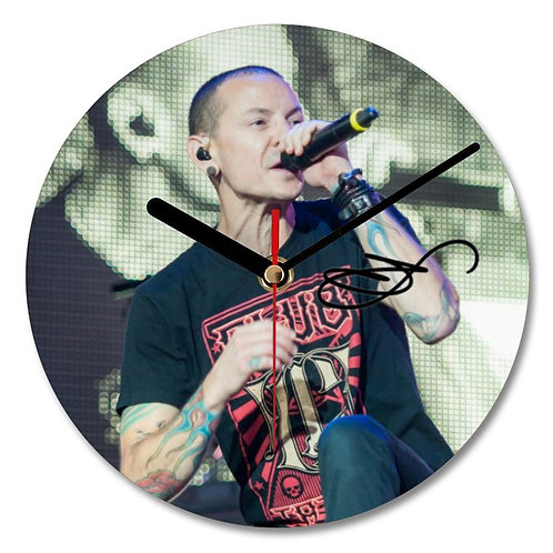 Chester Bennington - Linkin Park Autographed Wall Clock