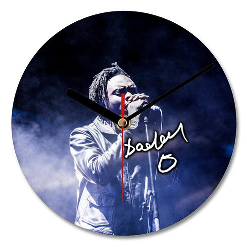 Daddy G - Massive Attack Autographed Wall Clock