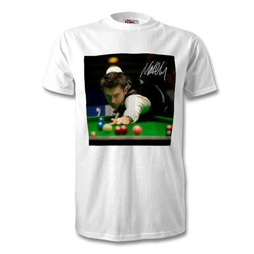 Mark Selby Snooker Autographed Mens Fashion T-Shirt