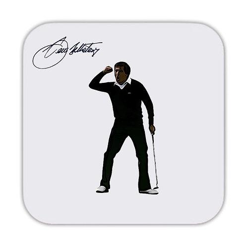 Seve Ballesteros Golf Drinks Coaster 9 x 9cm