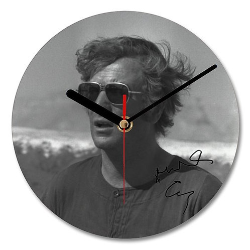 Michael Caine Autographed Wall Clock