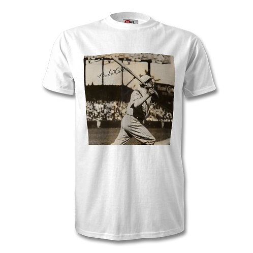 Babe Ruth New York Yankees Autographed Mens Fashion T-Shirt