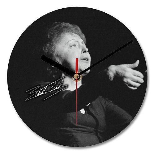 Edith Piaf Autographed Wall Clock
