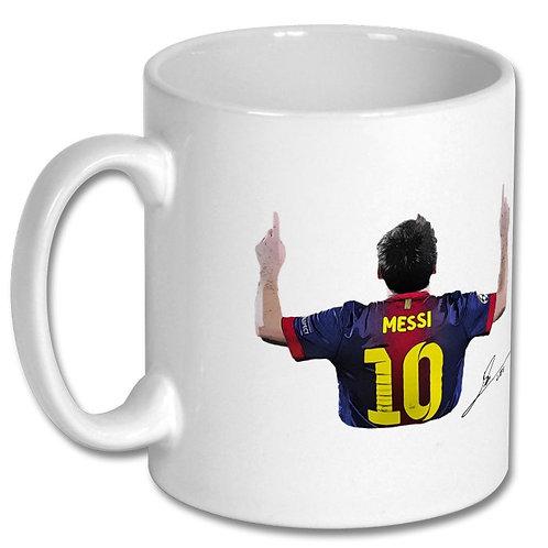 Lionel Messi Barcelona 10oz Mug