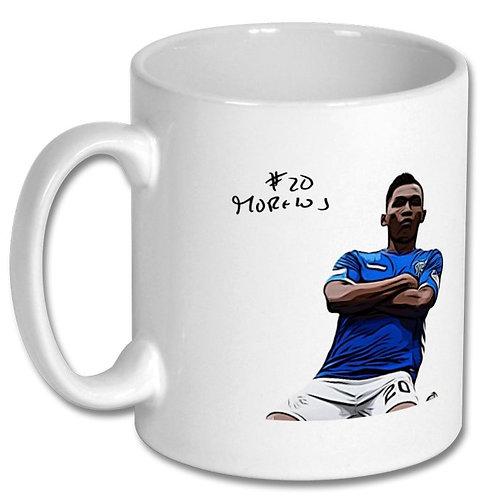 Alfredo Morelos Rangers 10oz Mug