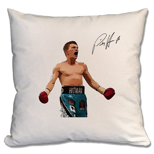 Ricky Hatton Boxing Large Cushion