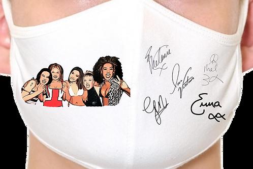 Spice Girls Reusable Face Mask